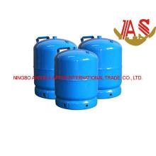 Cylindre de gaz de LPG et réservoir de gaz en acier pour le camping (3kg)