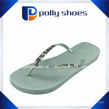 Sandalias de la correa de la boda de las mujeres Flip Flop Blanco Sz 6 Nwt
