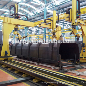 dumper metal plate automatic robot welding equipment/ metal plate automatic robot welding equipment