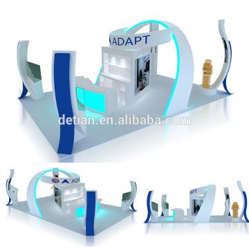 Oferta Detian 6x9 para exposición de exposición de madera modular retroiluminada 6x6 visualización personalizada