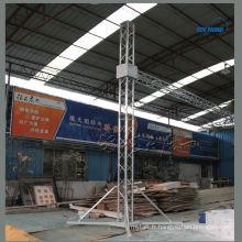 Chine exportation en aluminium tour de levage de treillis