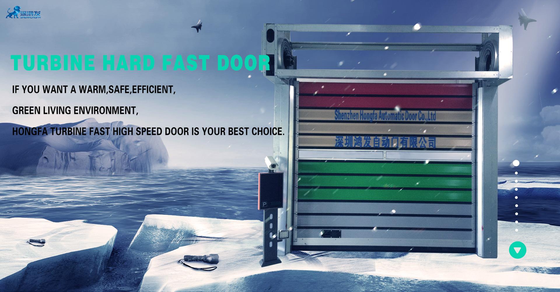 fast alumium door
