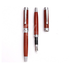 Classic Wooden Fountain Pen for Wedding Gift