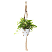how to macrame plant holder