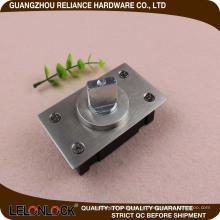 Pivote de resorte horizontal con placa de piso, servicio mediano 40 ~ 60KG, anillo de acero inoxidable abierto