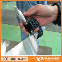 5052 H38 Folha de alumínio 1,6 mm Espessura para sinal de trânsito