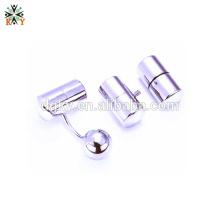 2015 novo latkan língua anel não-piercing vibração língua anel