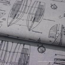 Tissu Oxford 100% coton imprimé de haute qualité