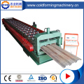 CE Standard Zink Decking Steel Forming Machine
