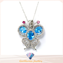 Good Quality and Hot Sale Fashion Jewelry Sterling Sliver Jewelry Butterfly Pendant P4984