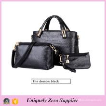 Мода женщин Messenger PU кожа кроссбонд сумки (54096)