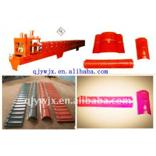 QJ most popular 312 ridge cap roof roll forming machine China