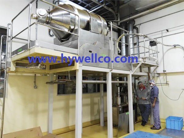 Solid Material Blender Machine