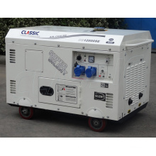 CLASSIC CHINA Hot Sale 10kw Generator,Good Price Air Cooled Diesel Generator,Easy Move With Tire Kit 10KW Diesel Generator
