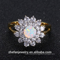 2018 hot sale new design double plating silver ring Rhodium plated jewelry is your good pick