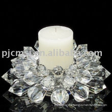 2013 New Design Crystal Flower Candle Holder For Wedding Favors