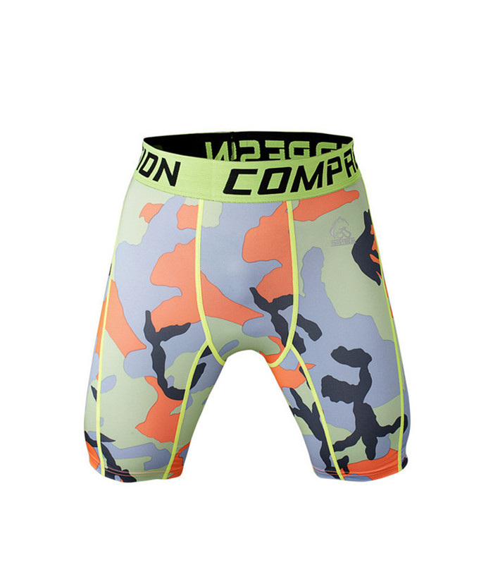 mens printed camo shorts
