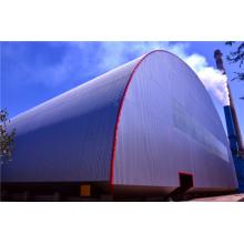Hochwertige vorgefertigte Stahlbogengebäude