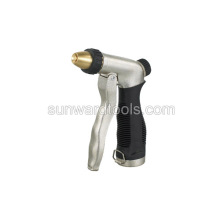 Adjustable metal front trigger spray gun