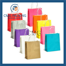 Paper Retail Grocery Bags Kraft with Handles