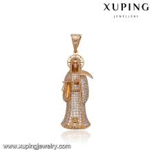 33007 Xuping ювелирные изделия 18k позолоченный ожерелье для Хэллоуина подарок