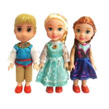 Custom Hot Sale Promotional Kids Children Plastic Figure Doll Toy