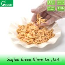 Klare Lebensmittelverarbeitung PVC Handschuh