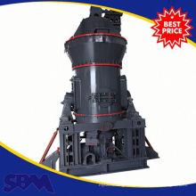 Installation facile mtm moyenne moulin à vitesse trapézoïdale, broyeur raymond