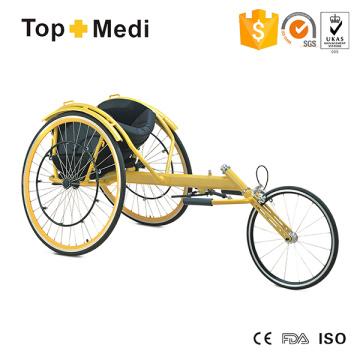 Suministros de terapia de rehabilitación Silla de ruedas deportiva Sprint Race Speed King Silla de ruedas