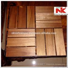Tuiles de toit en bois Vietnam 300x300x19 mm - Longue durée extérieure par revêtement d'huile