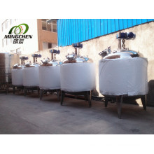 Stainless Steel Milk Blending Mixing Tank