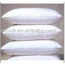 Almohadas, almohadillas interiores de hotel, almohadillas blancas