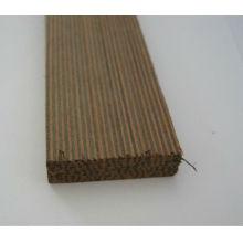 moldura de madera de cebra negra