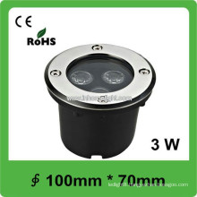 High brightness Waterproof 3W LED 12V garden underground light