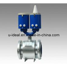 Compteur de débit magnétique à fluide à actionnement par batterie