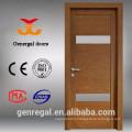 Durable Customize painted veneered tempered glass office door