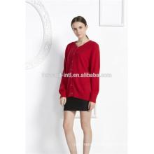 Мода короткий рукав кашемир вязаный свитер