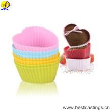 Moule en plastique de silicone d'outils de ménage pour la fabrication de biscuit