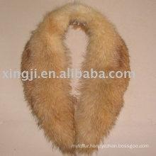 Removable Raccoon Fur Collar