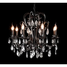 Elegant Retro Industrial Pendant Lamp with Crystal Drop (cos9228)