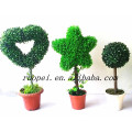 2014 China new decorative artificial topiary ball tree