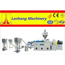 PVC Plastique WPC Compounding Pelletizing Granulator Line
