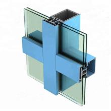 Cadre en aluminium de profil de meubles de bureau pour la séparation en verre