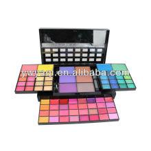 Fabricação de cosméticos Yaqi compõem Kit de pó de maquiagem grande de moda para mulheres cosméticos
