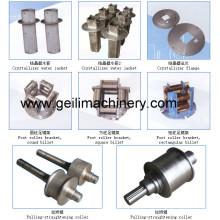 Peças sobresselentes para o conjunto de CCM / Crystizerizer / Toolings do molde