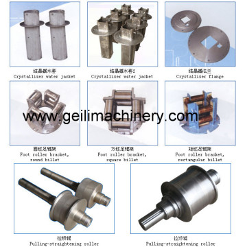 Spare Parts for CCM/ Crystallizer Assembly/ Mould Toolings