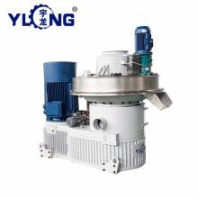 Yulong EFB máquina de pellets de pó malásia