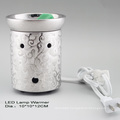 15CE23901 Silver Plated LED Light Warmer