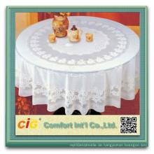 Wasserdichte Polyester gewebte Hochzeit Tisch-Tuch