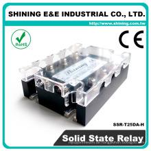 SSR-T25DA-H Panel montiert DC zu AC Solid State Relay 3 Phase SSR